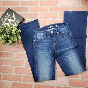 7 for all mankind kimmie bootcut jeans 26